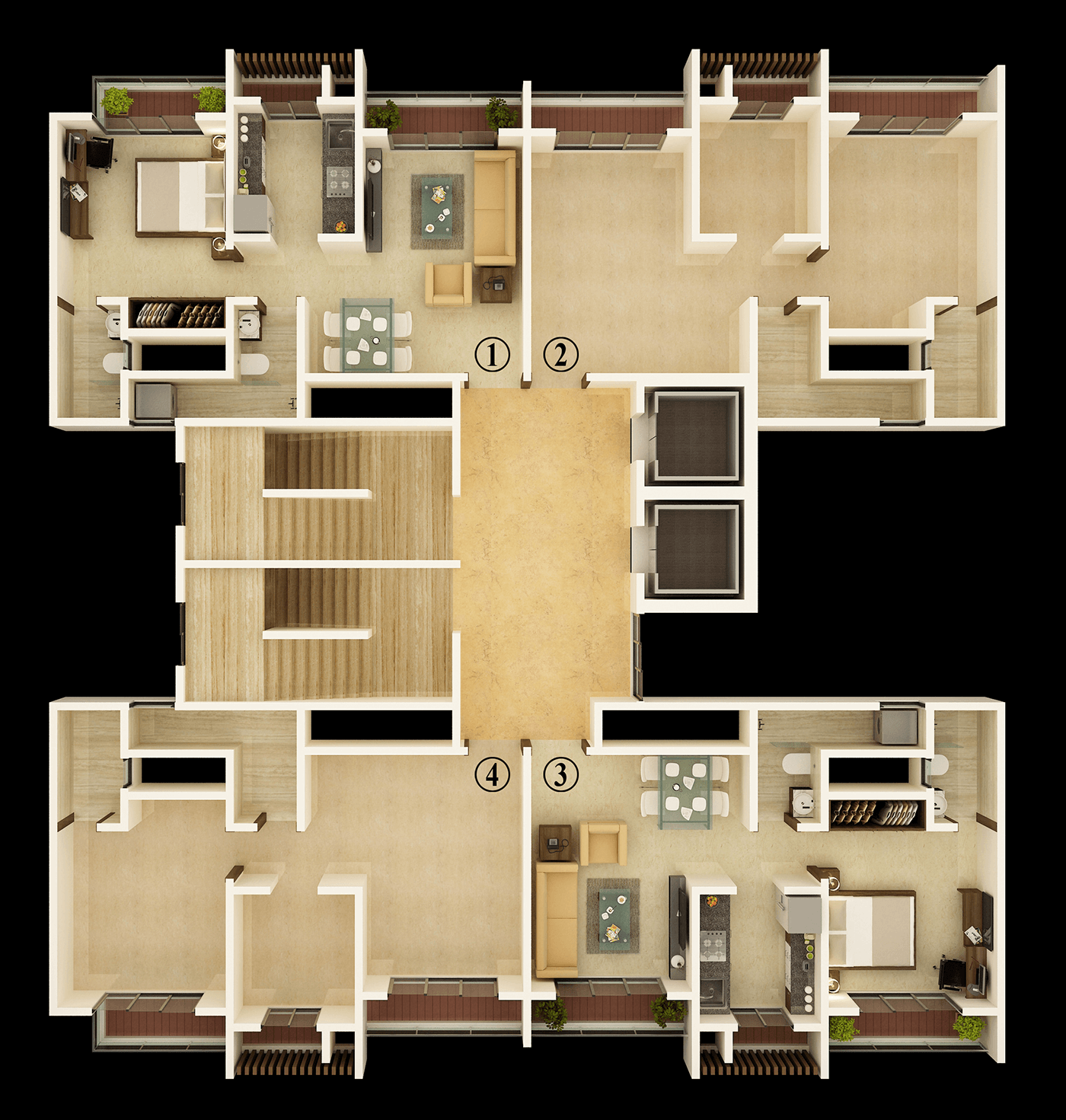Unique Greens Floor Plan 2