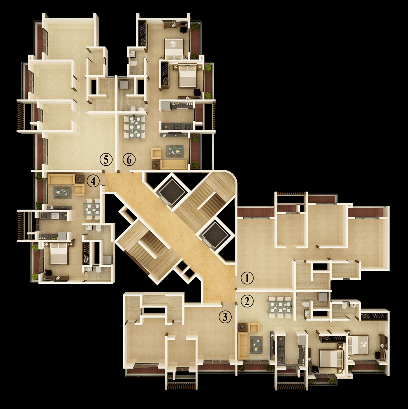 Unique Greens Floor Plan 3